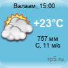 Погода на Валааме
