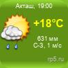 Погода в Акташе
