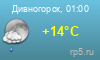Погода Дивногорск