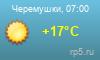 Погода Черемушки