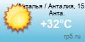 Погода в Турции - Анталия