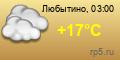 Погода в Любытино