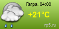 погода - Гагра