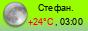 погода - Стефанидинодар