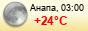 погода - Анапа