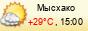 погода - Мысхако